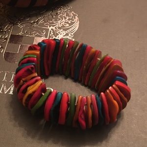 Chunky Bracelet Multi-Colored